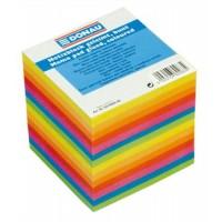 Notecube, 90x90x90 mm, glued, DONAU, colorued